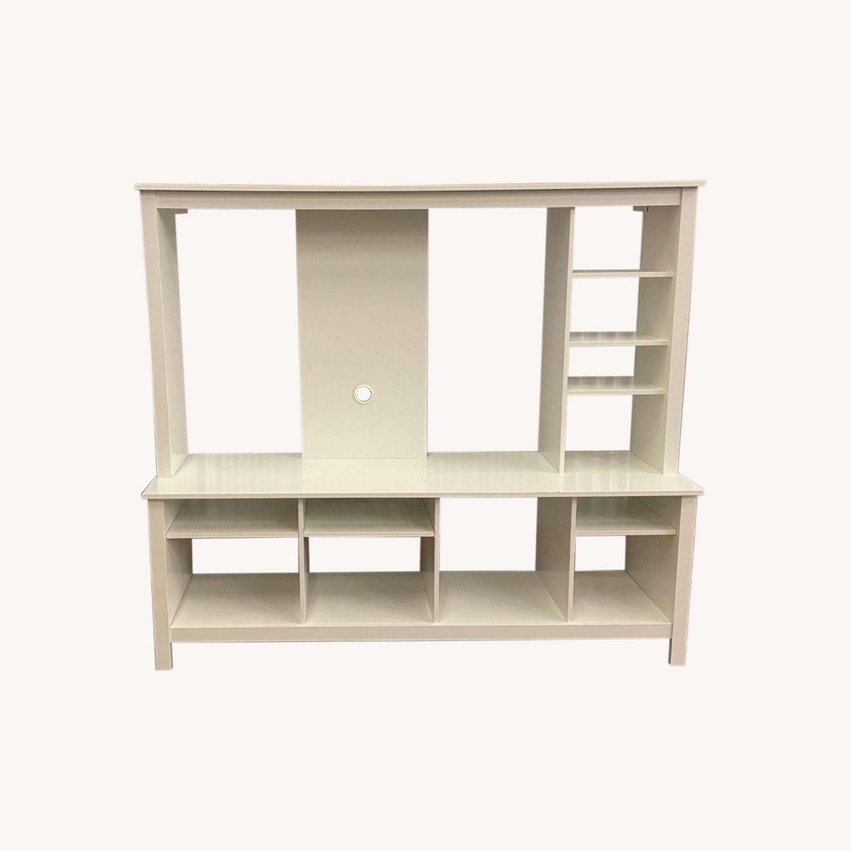 IKEA White Media Center/Display - image-0