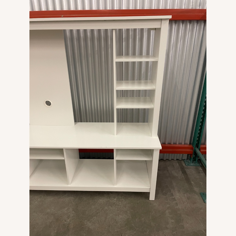 IKEA White Media Center/Display - image-2