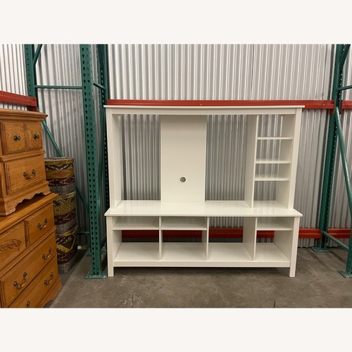 Used IKEA White Media Center/Display for sale on AptDeco