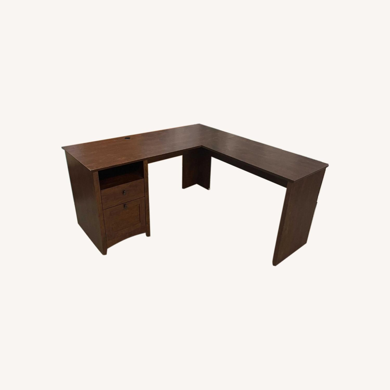 IKEA L-Shape Ergonomic Desk - image-0