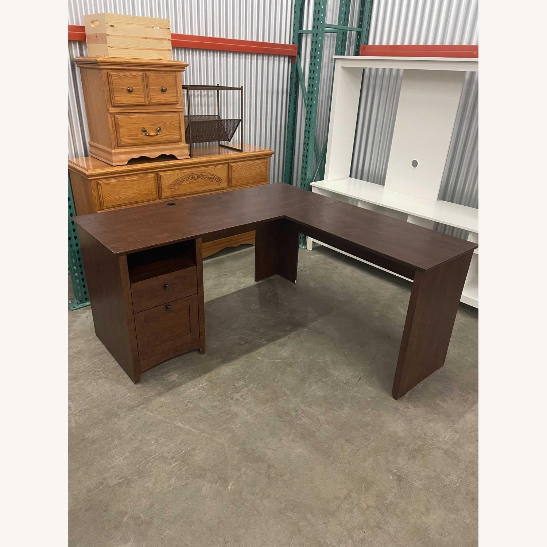 IKEA L-Shape Ergonomic Desk - image-1