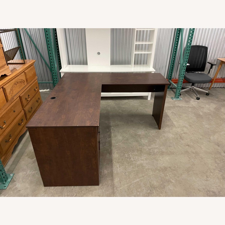 IKEA L-Shape Ergonomic Desk - image-4