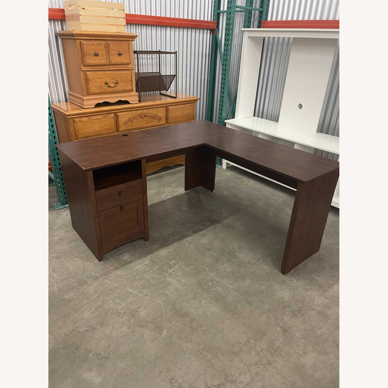 IKEA L-Shape Ergonomic Desk - image-2