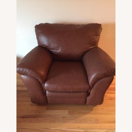 Used Divani Italian Leather Armchair for sale on AptDeco