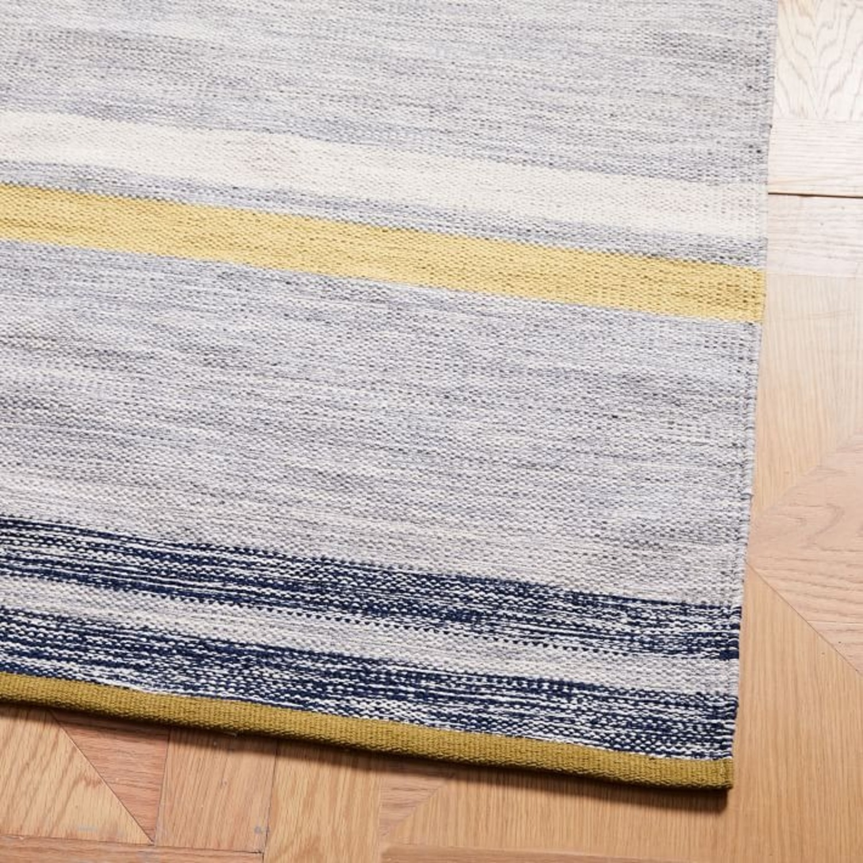 West Elm Mixed Stripes Dhurrie, Multi, 5'x8' - image-3