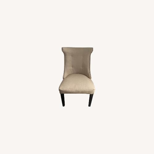 Used Beige Accent Chair for sale on AptDeco