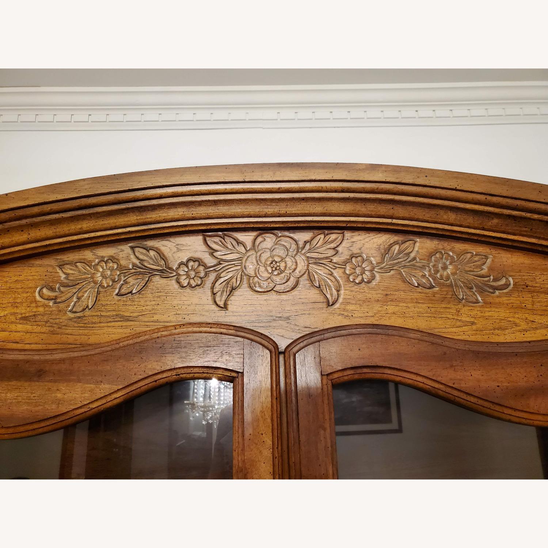 Antique Display Hutch Top - image-4