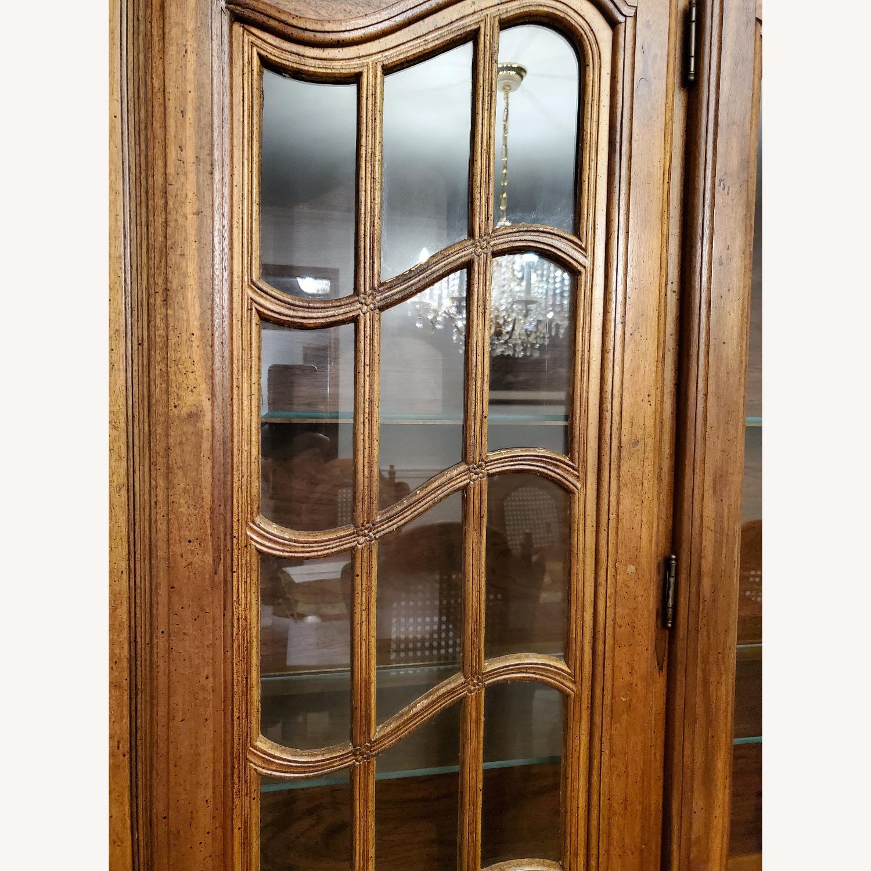 Antique Display Hutch Top - image-5