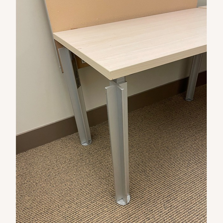 Bulo Designer Contemporary Desk with Steel Legs - image-3