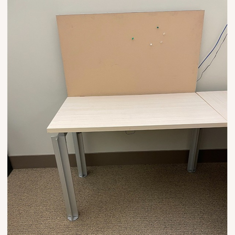 Bulo Designer Contemporary Desk with Steel Legs - image-2