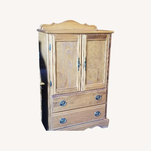 Used Simmons Bedding Co Kids Armoire for sale on AptDeco