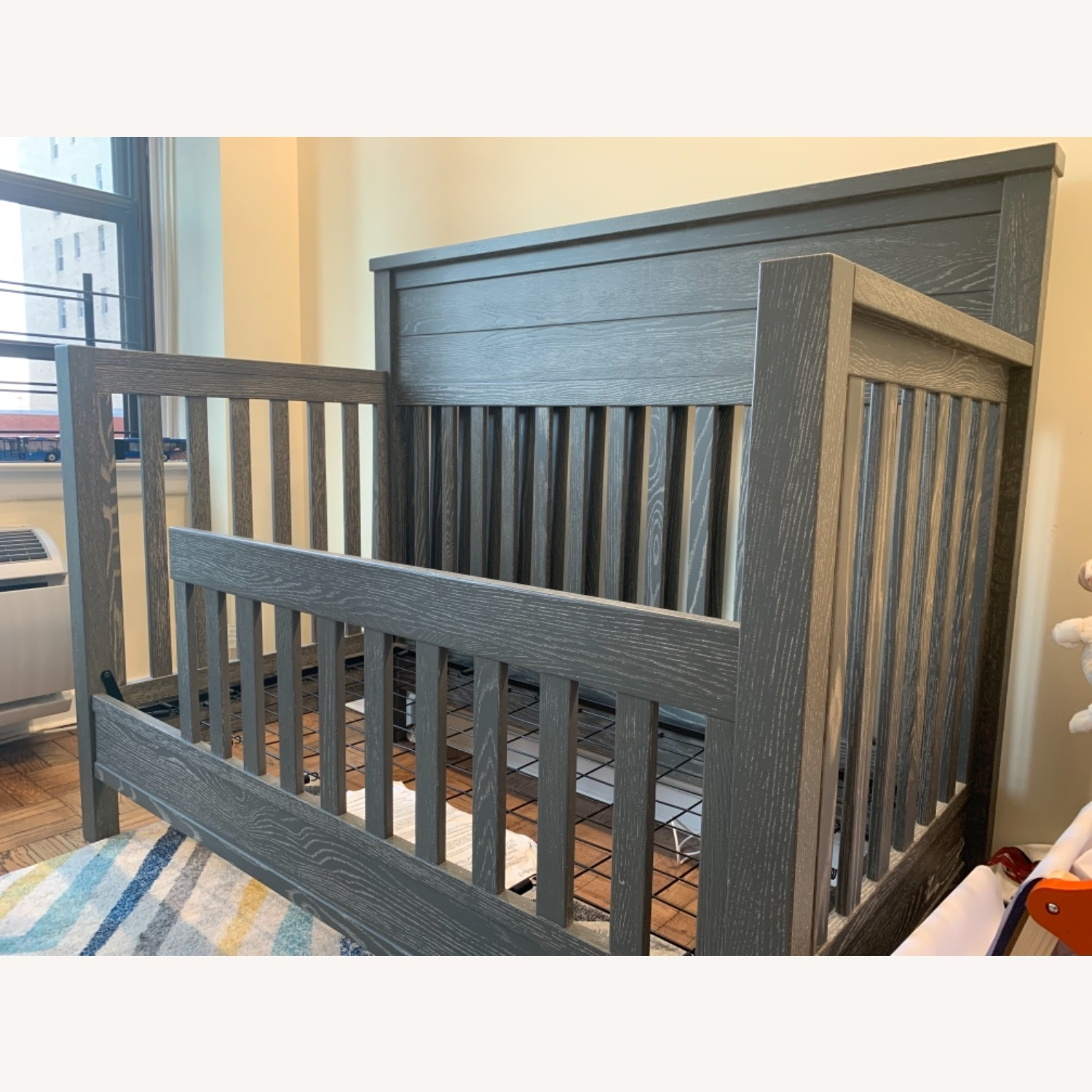 Pottery Barn Charlie Crib, Toddler Bed, Full Bed - image-2