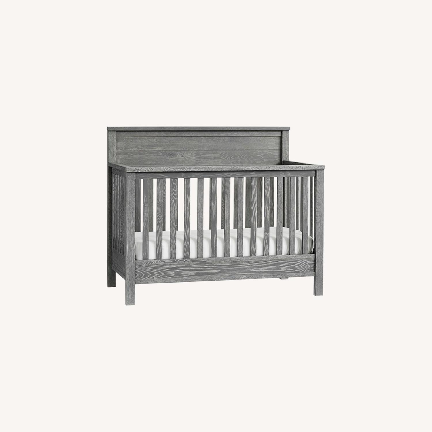 Pottery Barn Charlie Crib, Toddler Bed, Full Bed - image-0