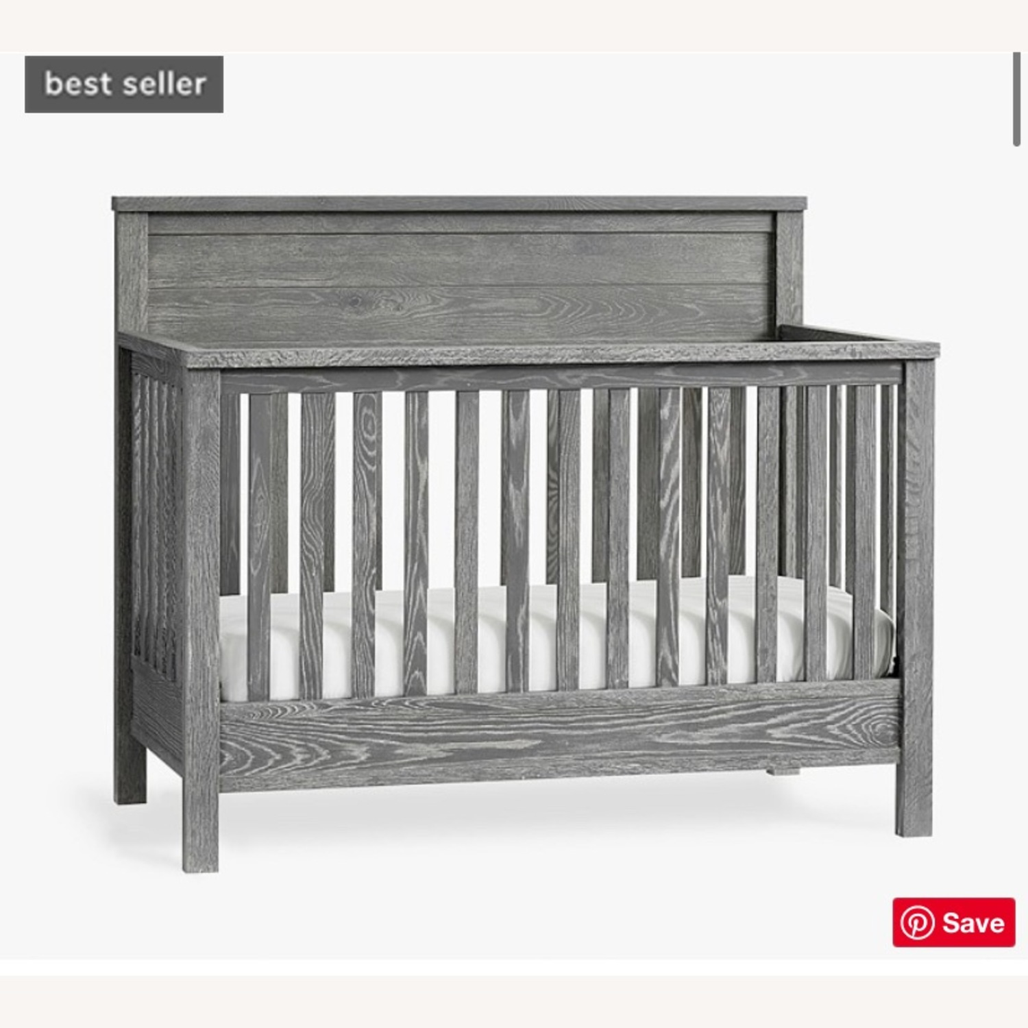 Pottery Barn Charlie Crib, Toddler Bed, Full Bed - image-4