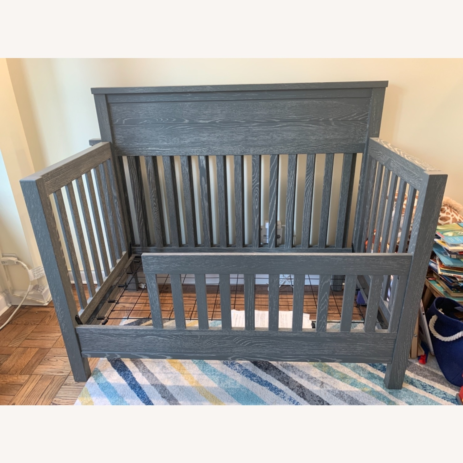 Pottery Barn Charlie Crib, Toddler Bed, Full Bed - image-1