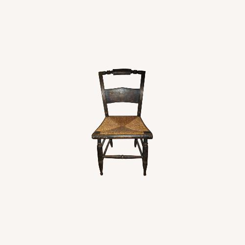 Used Set of 8 Hitchcock Rush-Seat Chairs for sale on AptDeco