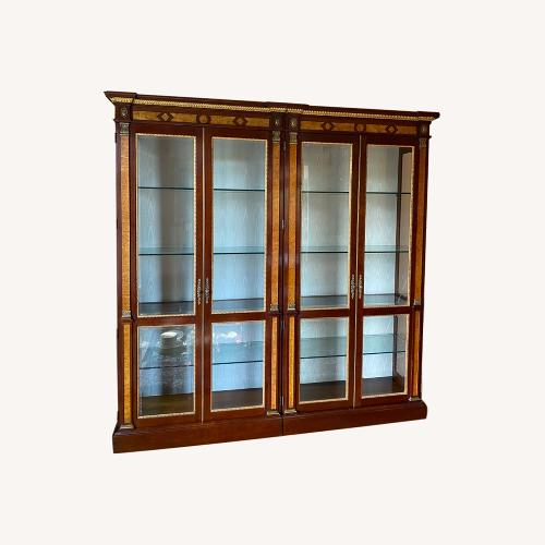 Used John Widdicomb Double China Cabinet for sale on AptDeco