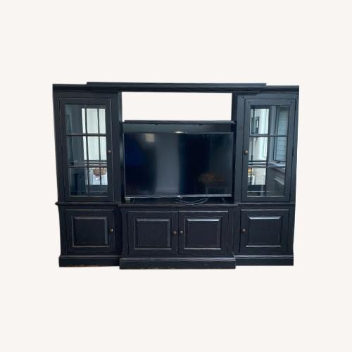 Used Wall Unit- Entertainment Center for sale on AptDeco