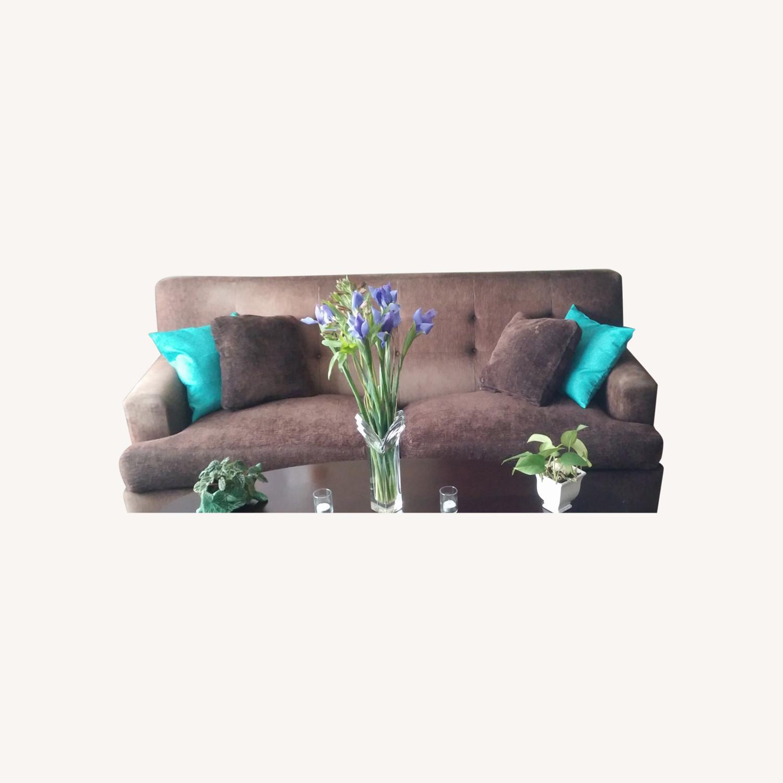 Mocha Choca Latta Sofa - image-0