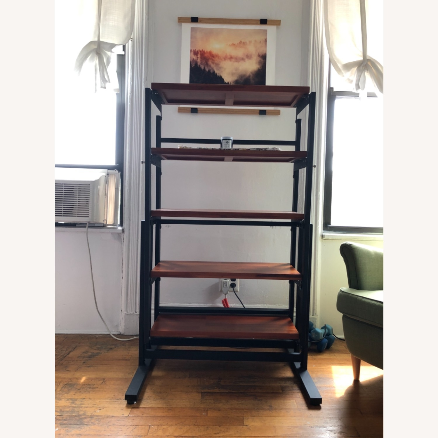 Convertible Shelves to Dining Table - image-1
