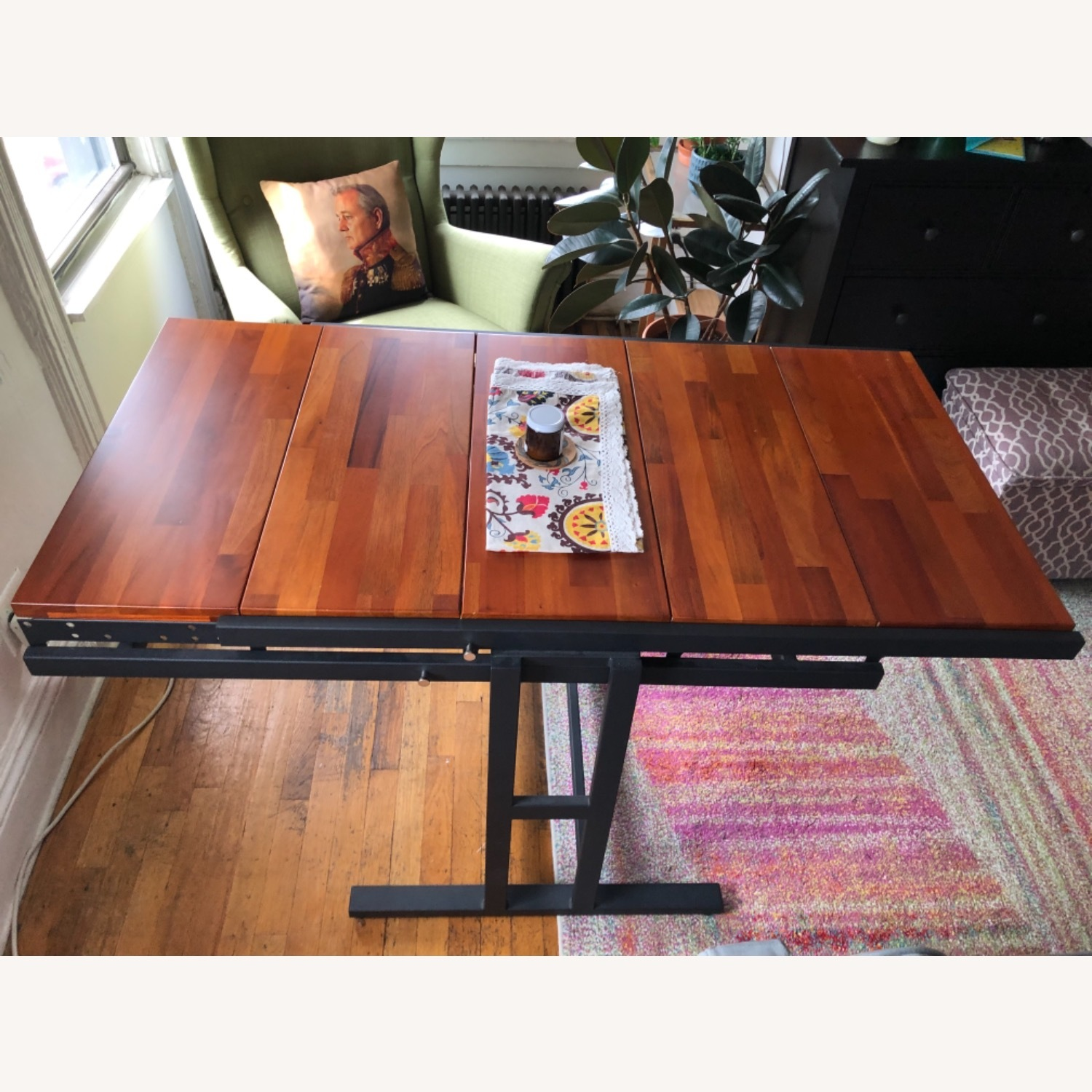 Convertible Shelves to Dining Table - image-0