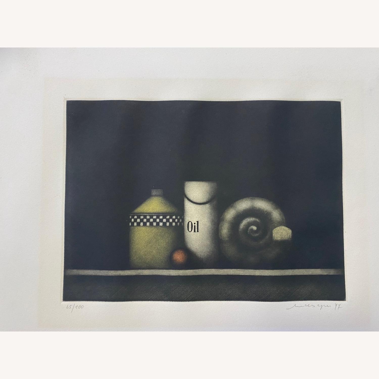 Oil #183 by Friedrich Meckseper, 1977 - image-0