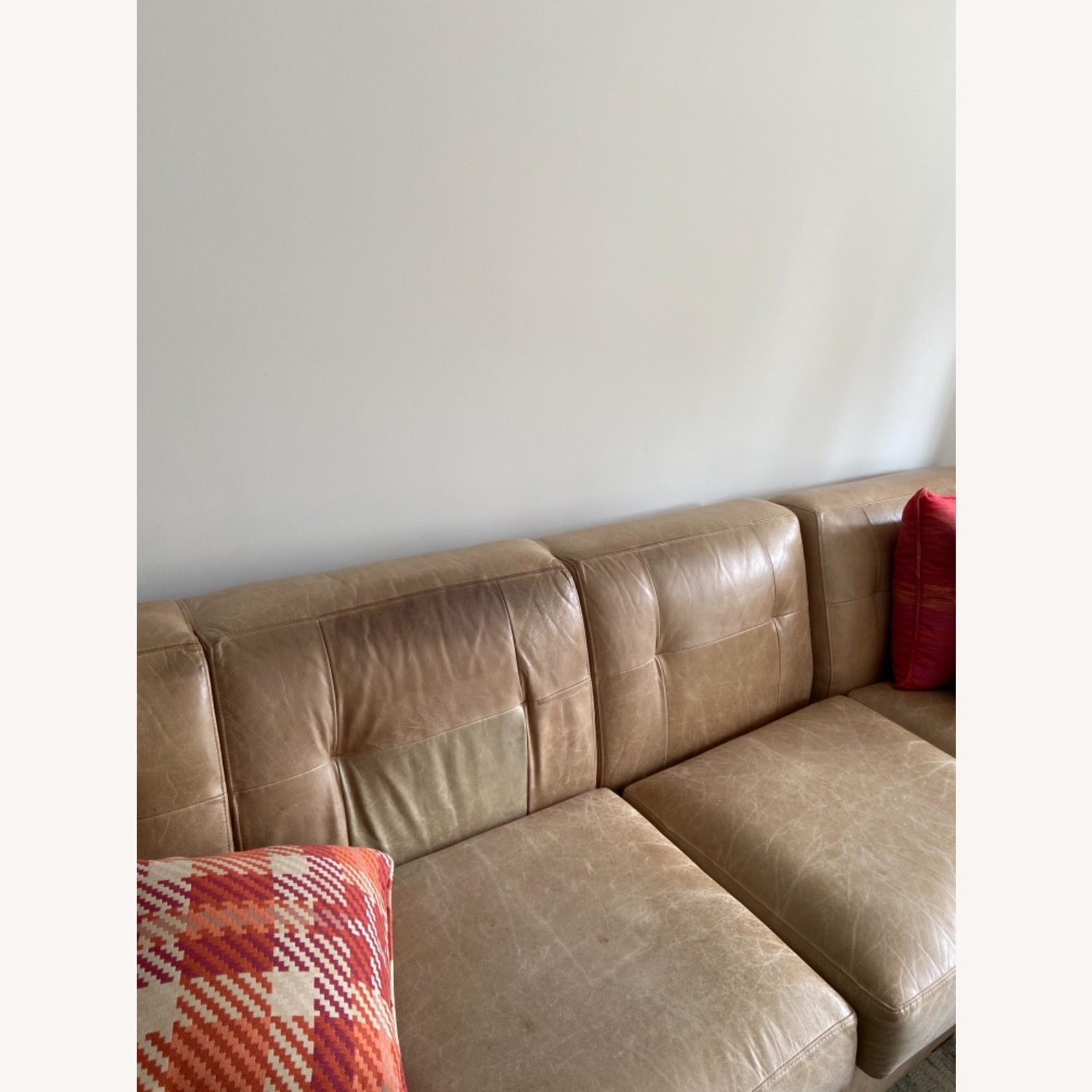 Leather Sectional - image-1