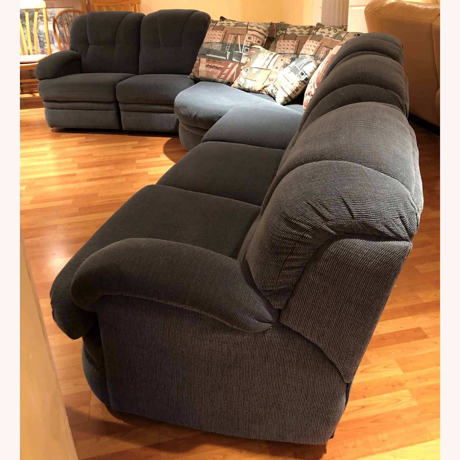 Stratford Sectional Sofa Recliner and Pullout Bed - image-3