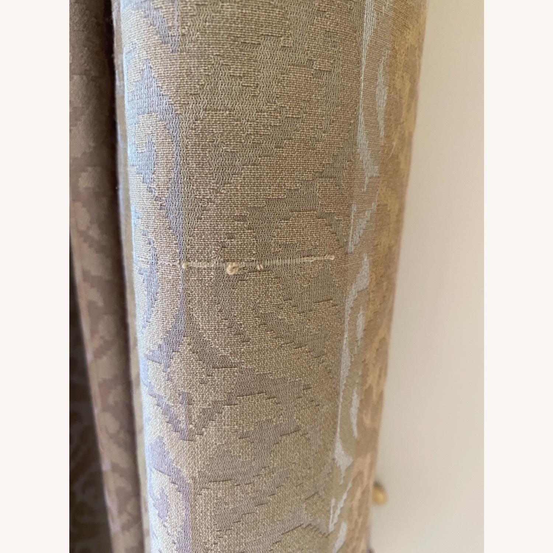 Vintage Custom Brown Drapes and Valance - image-4