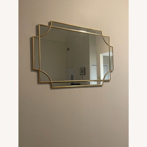Used Decorative Gold Mirror for sale on AptDeco