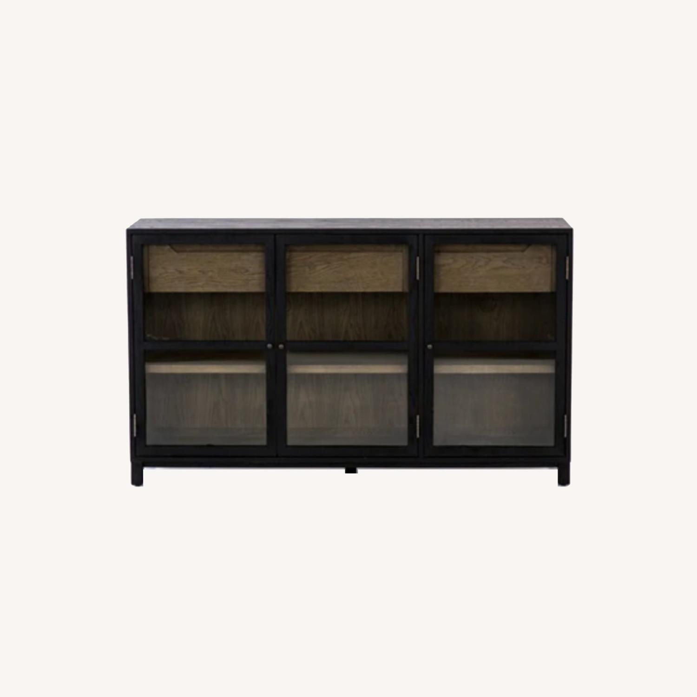 Burke Dcor Millie Sideboard in Drifted Black - image-0