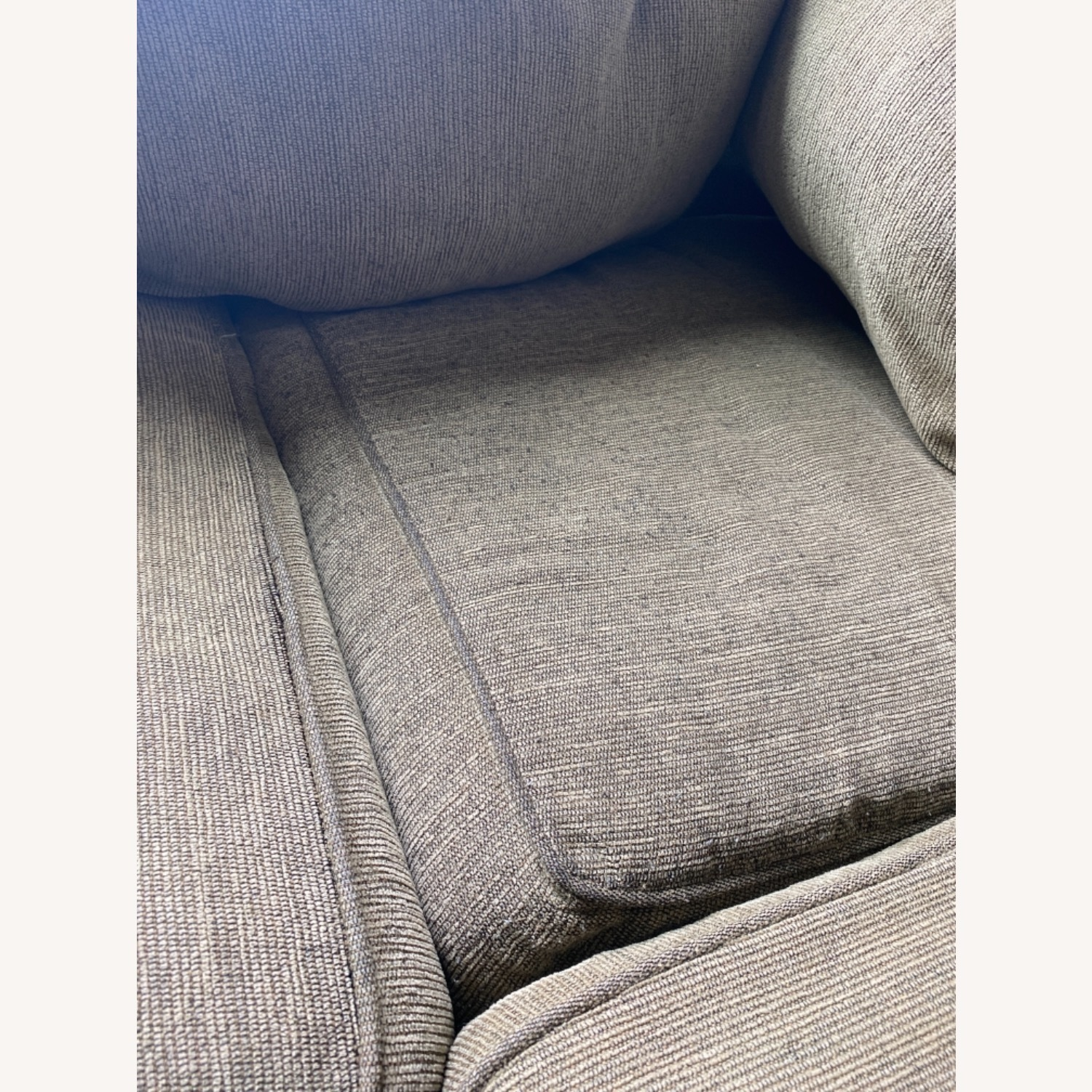 Olive Green 2 Piece Sectional Sleeper Sofa - image-3
