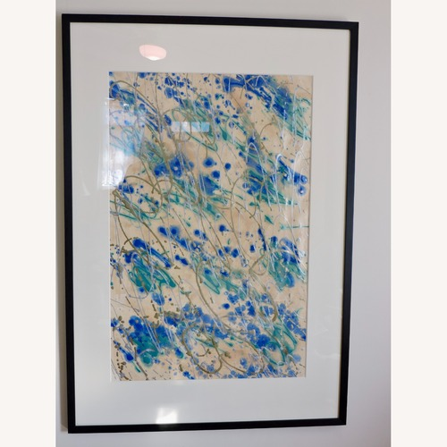 Used Framed Original Abstract Acrylic for sale on AptDeco