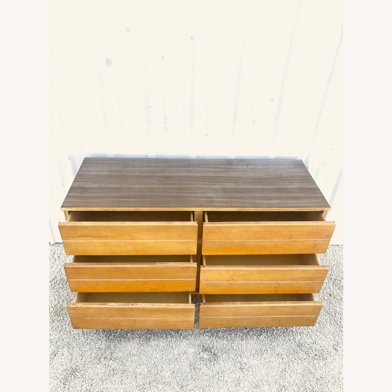 Mid Century Compact Six Drawer Dresser - image-11
