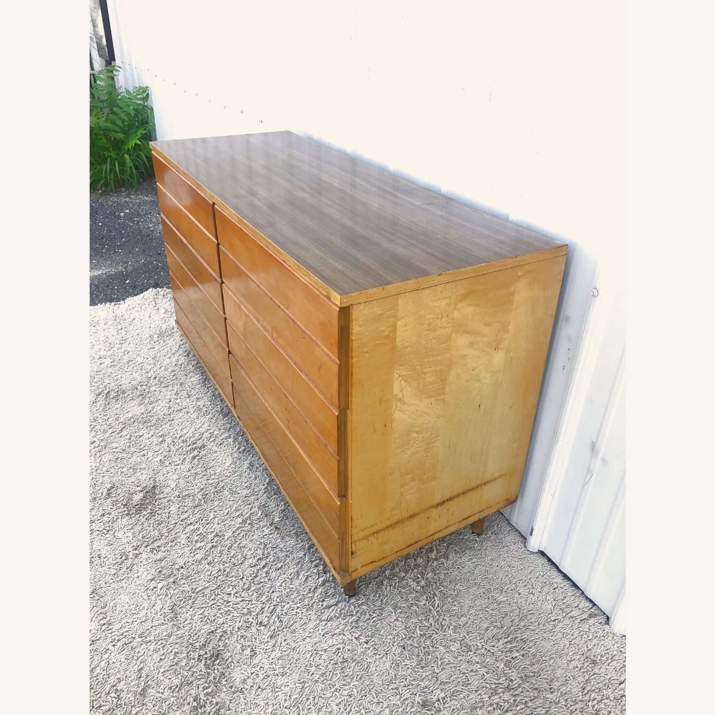 Mid Century Compact Six Drawer Dresser - image-5