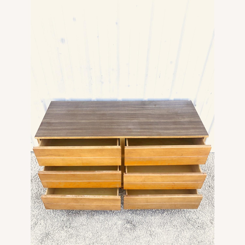 Mid Century Compact Six Drawer Dresser - image-8