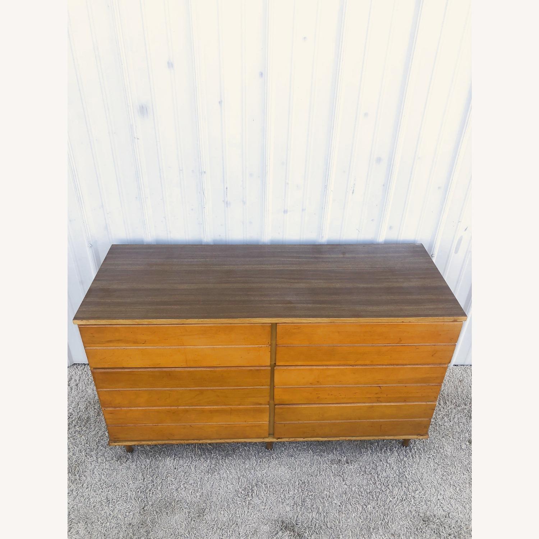 Mid Century Compact Six Drawer Dresser - image-3
