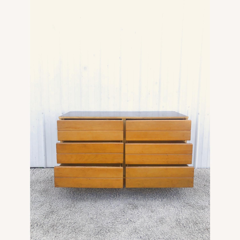 Mid Century Compact Six Drawer Dresser - image-16