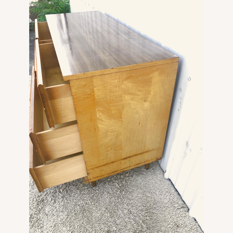 Mid Century Compact Six Drawer Dresser - image-14