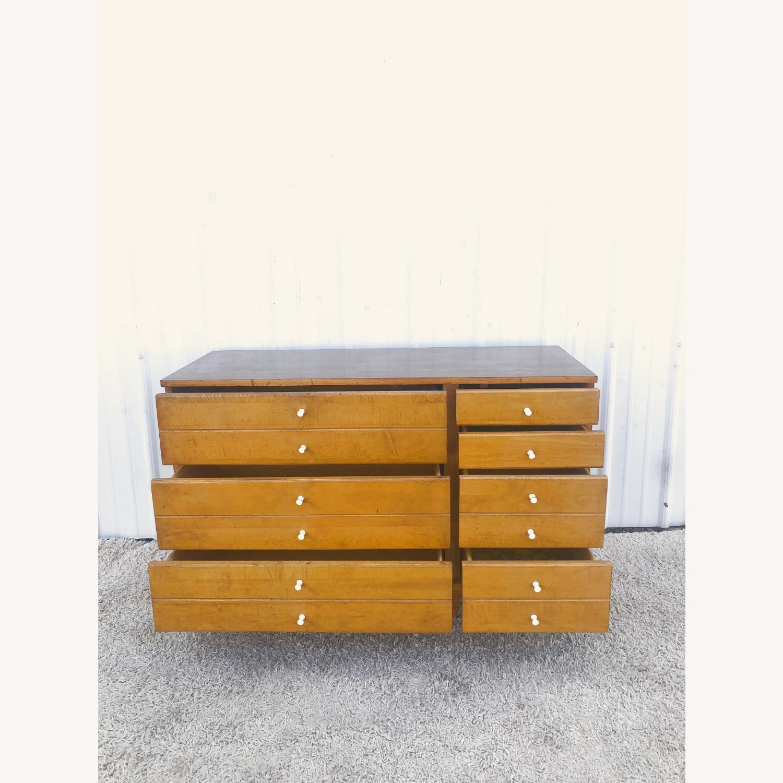 Mid Century Compact Six Drawer Dresser - image-9