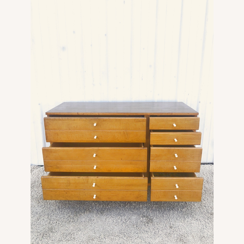 Mid Century Compact Six Drawer Dresser - image-15