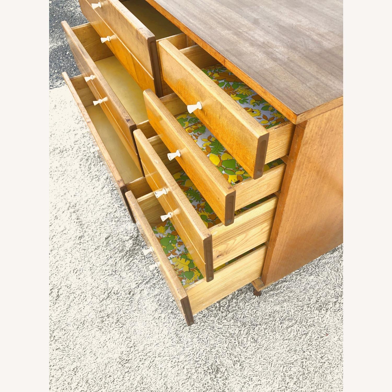 Mid Century Compact Six Drawer Dresser - image-13
