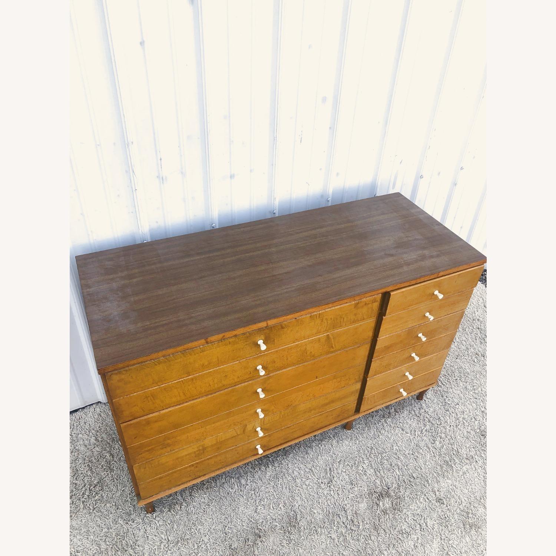 Mid Century Compact Six Drawer Dresser - image-4
