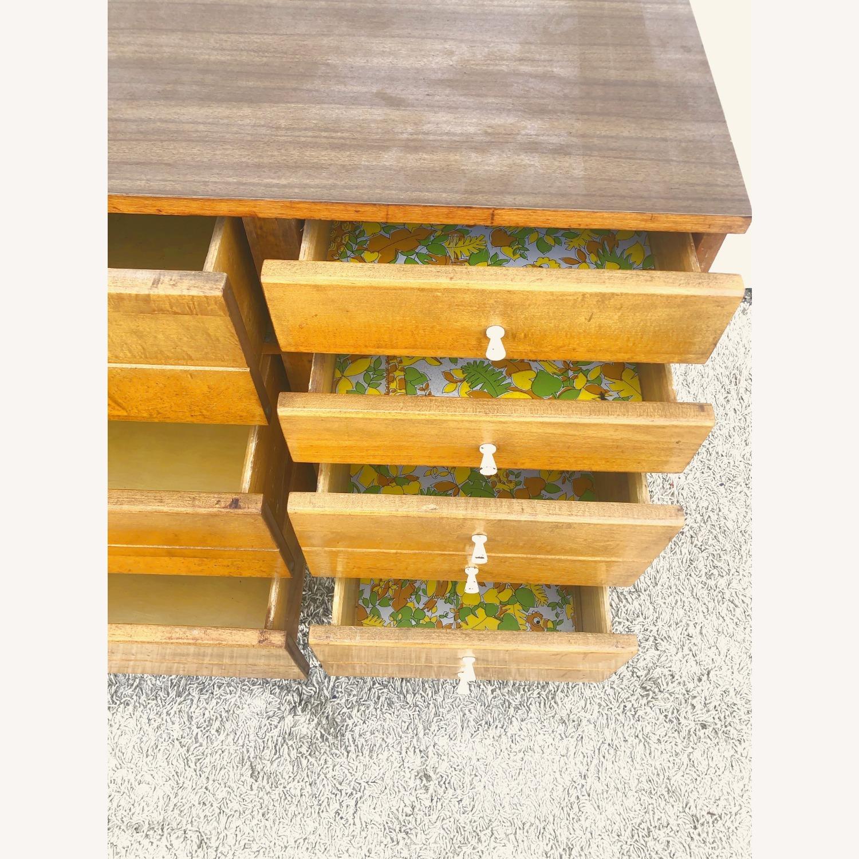 Mid Century Compact Six Drawer Dresser - image-17