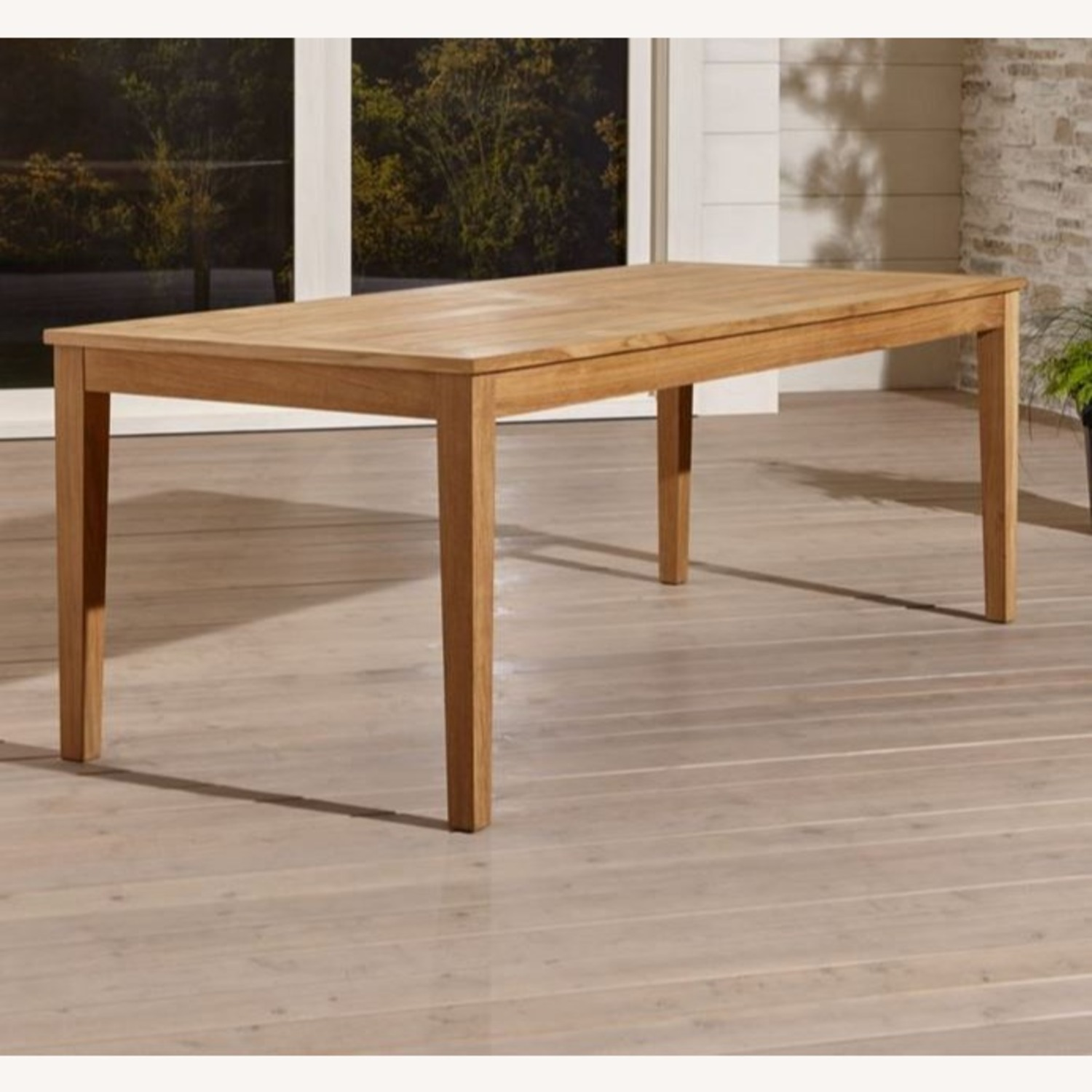 Crate & Barrel Regatta Dining Table Bench Cushions - image-1
