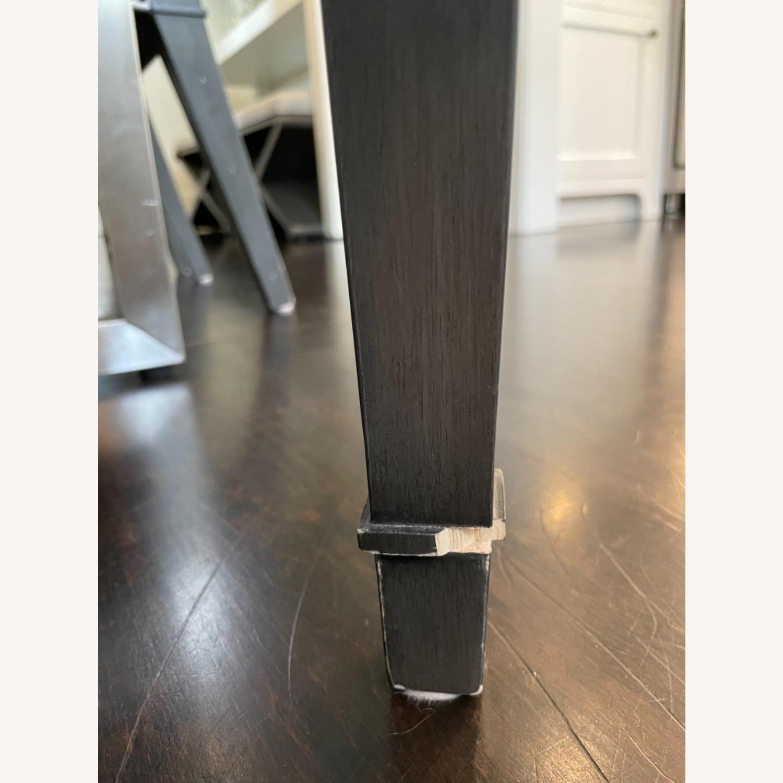 Lee Industries Grey Herringbone Dining Chairs - image-6