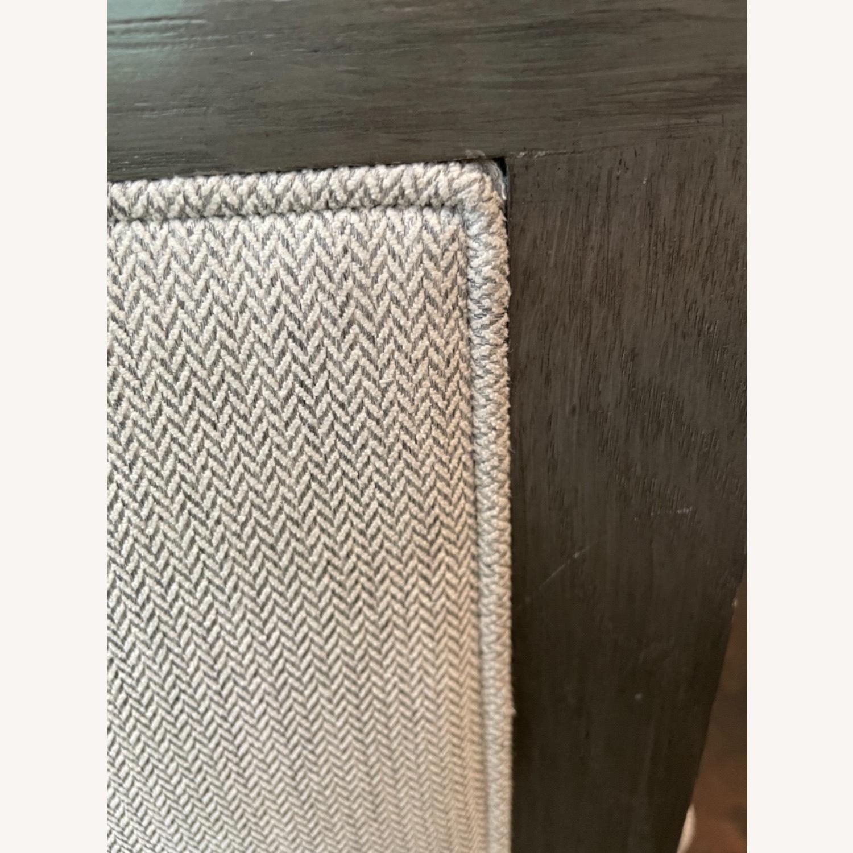 Lee Industries Grey Herringbone Dining Chairs - image-7