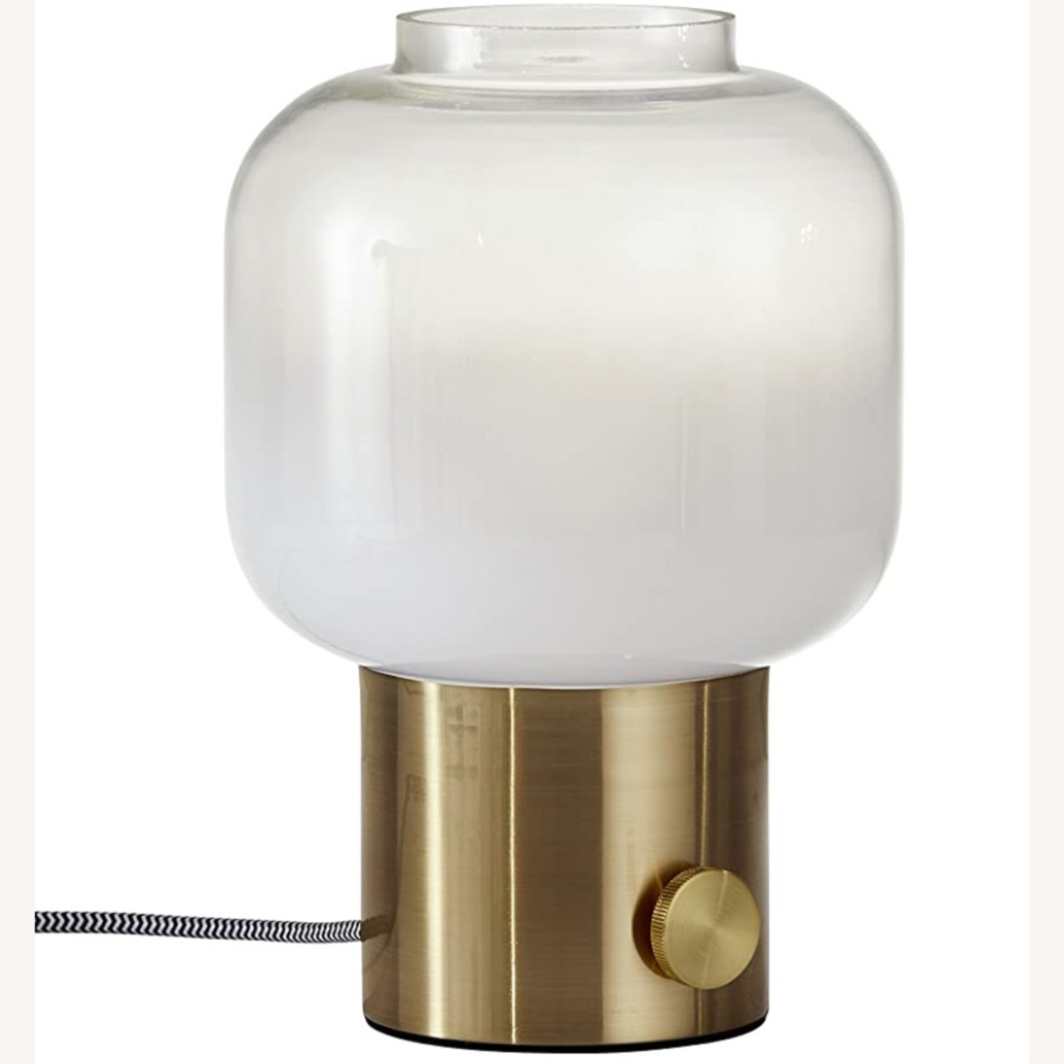 Adesso Lewis Accent Table Lamp - Antique Brass - image-2