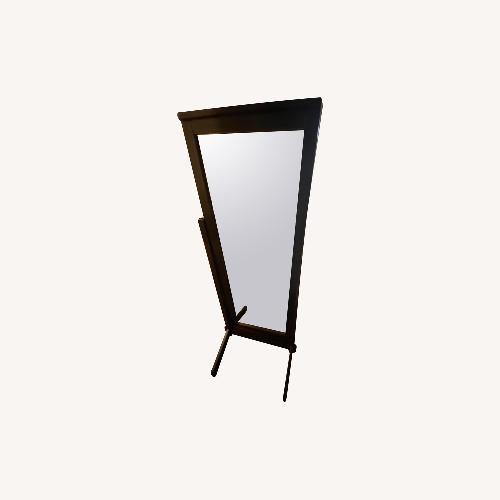 Used Gothic Cabinet Craft Wood Carolina Standing Mirror for sale on AptDeco