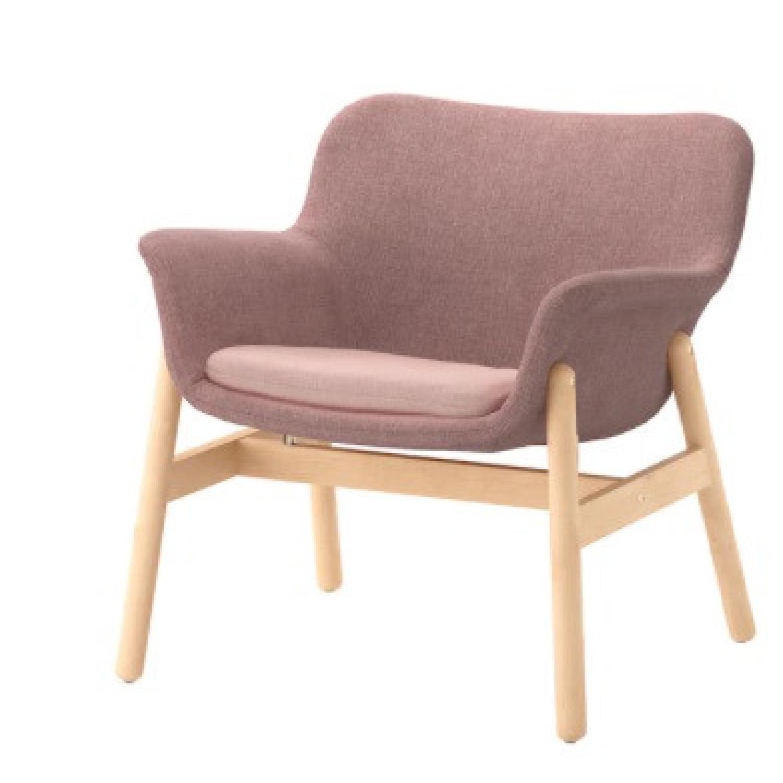 IKEA Pink Armchair - image-0